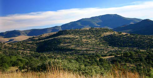 The wild and remote Davis Mountains is considered one of the most scenic areas of Texas. Photo courtesy of the Nature Conservancy.