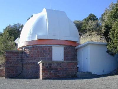 36-inch Telescope at McDonald Observatory. Photo: Kevin Mace, McDonald Observatory.