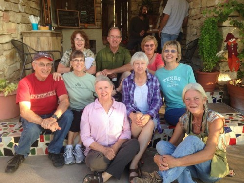 """Directors and """"Advance Team"""" of West Texas Trail Walkers"""