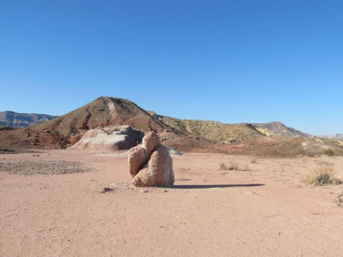 A masterpiece of Mother Nature - North side of 170 in Big Bend Ranch State Park