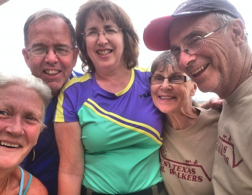 Bill & Marilyn Nash and Kathie & Les Minear with Sharron Reed