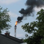"State regulators blame big spikes in emissions to ""upsets"" at a few facilities like this one in Houston in 2012. (Dave Fehling/StateImpact Texas)"