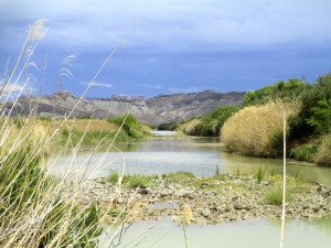 The Rio Grande - the international boundary that transcends human attempts to control