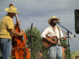 Trevor Reichman, one of the many musicians representing the Texas side of the border