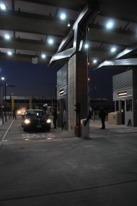 Vehicles began being processed through the new Tornillo International Port of Entry on Monday, Nov. 17. (U.S. Customs and Border Protection)