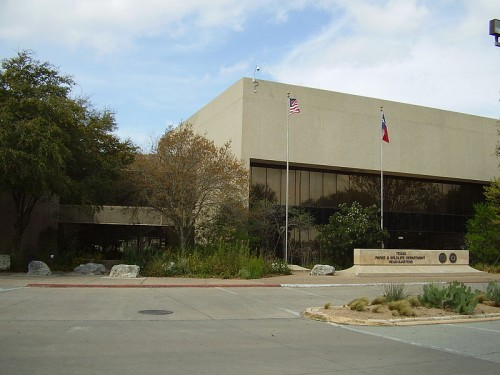 Texas Parks and Wildlife Department headquarters in Austin, TX
