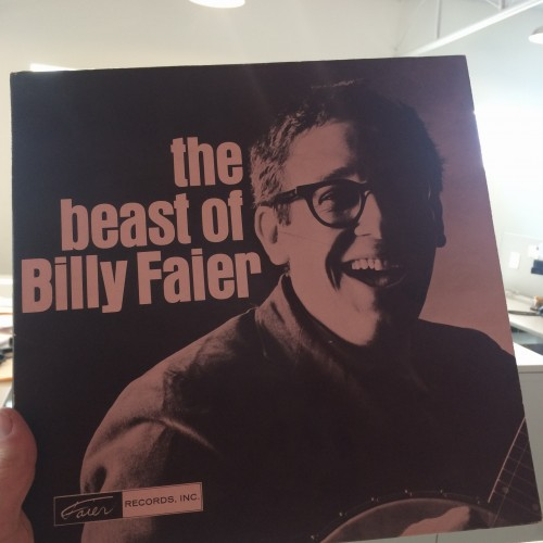 Billy Faier gave Marfa Public Radio his record album, but never granted an interview.