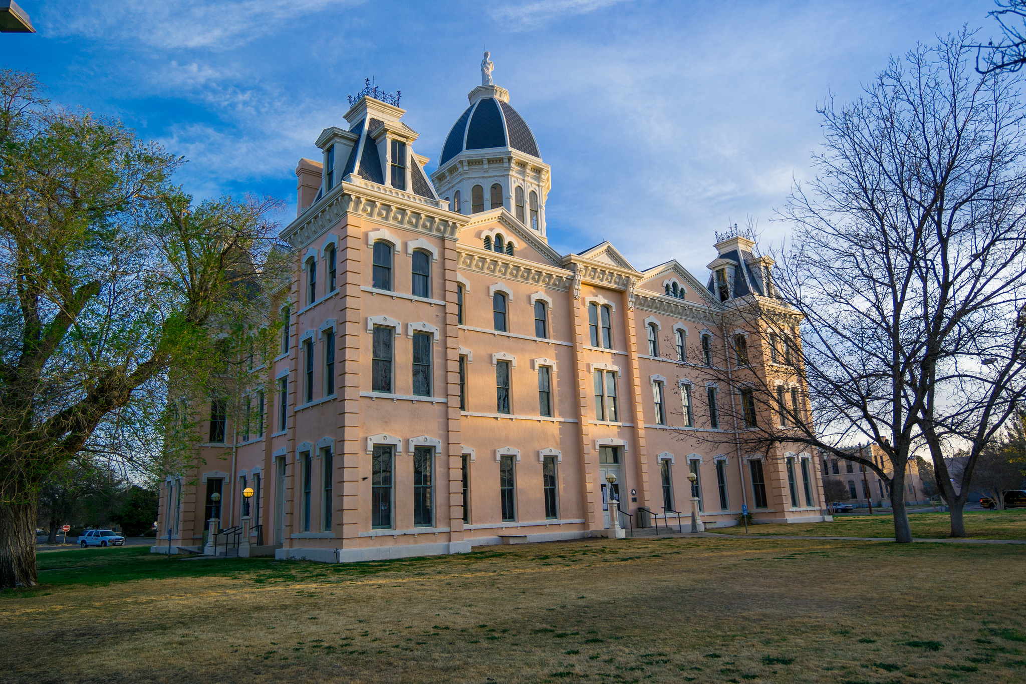 The Presidio County Courthouse in Marfa, TX. (Nan Palmero via Flickr. CC BY 2.0)