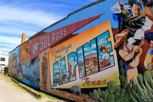 Mural in Alpine, TX, home to Front Street Brokes (daveynin via Flickr/Creative Commons CC BY 2.0)