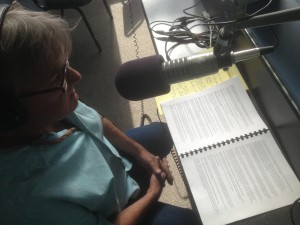 John Waters of the Big Bend Gazette with the Audit of the City of Alpine on KRTS, March 29, 2013.