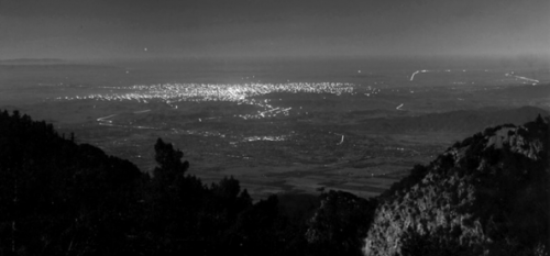 A view of Los Angeles from Mount Wilson in 1908 (Credit: Mount Wilson Observatory)