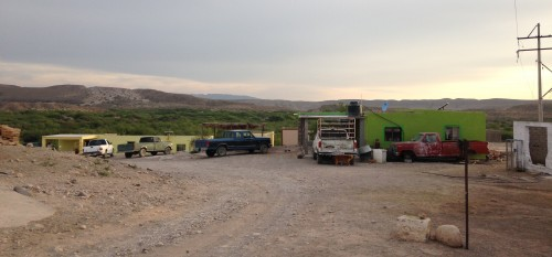 The Mexican government has said it will work to pave the streets of Boquillas. (Travis Bubenik/KRTS)