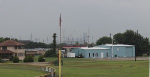 New petrochemical facilities going up in Freeport. (Dave Fehling/StateImpact Texas)