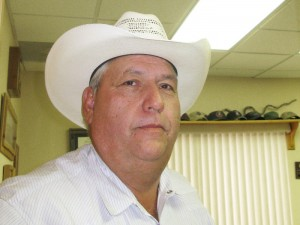 After federal grants used to help pay for housing offenders arrested on drug charges dried up, Sheriff Arvin West of Hudspeth County, Texas, stopped taking any more cases from the checkpoint. He says they occupied two full-time deputies and one-fourth of the space in the county jail. (John Burnett/NPR)