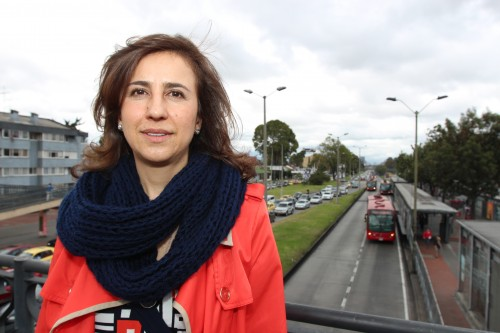 Alexandra Rojas has been tapped to head Transmilenio by Bogotá's mayor, Enrique Peñalosa. In his first term as mayor 16 years ago, Peñalosa made Transmilenio a hallmark of his administration's approach to making a smarter city. (Lorne Matalon)