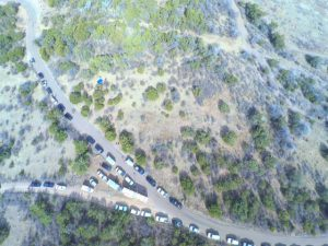 Drone footage of the crime scene (Brewster County Sheriff's Department Facebook page)